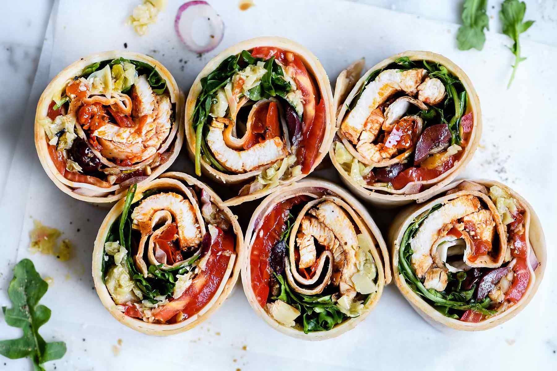 WRAPS AND SANDWICHES